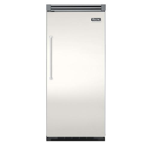 "Viking - Cotton White 36"" Quiet Cool™ All Refrigerator - VIRB Tru-Flush™ (Right Hinge Door)"