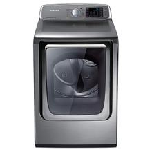 7.4 cu. ft. Capacity Gas Front Load Dryer (Stainless Platinum)