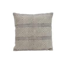 6816112 - Pillow 50x50 cm DAMILI black-white rhombus print striped