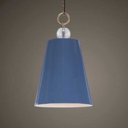 Delray Blue, 1 Lt Pendant