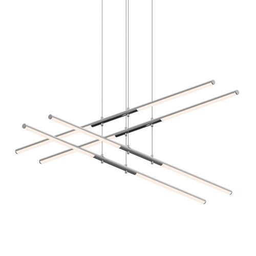 Sonneman - A Way of Light - Tik-Tak® LED Pendant [Size=Stack 2-Tier, Color/Finish=Polished Chrome]
