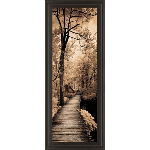 "Classy Art - ""Quiet Stroll I"" By Sziletyi Framed Print Wall Art"
