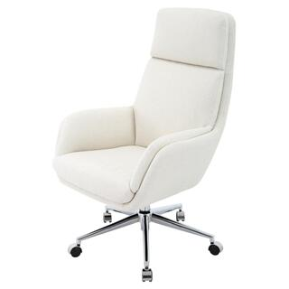Presley KD Fabric Office Chair, Cardiff Cream