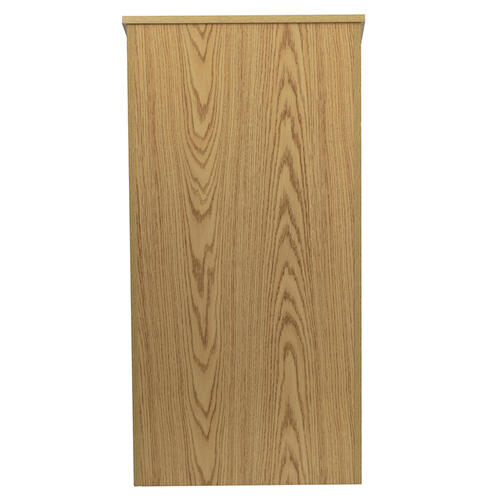 Flash Furniture - Stand-Up Wood Lectern in Oak
