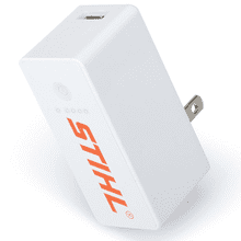 Be prepared with this 2-in-1 charger.