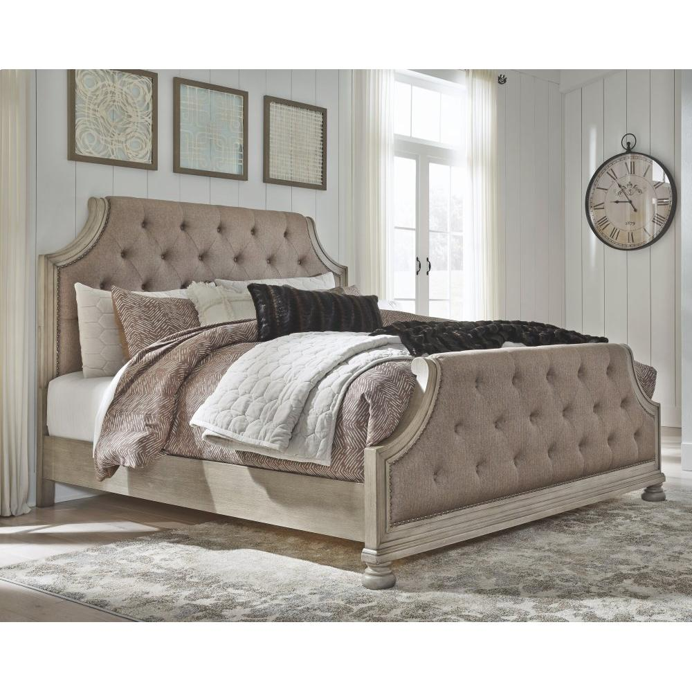 Falkhurst Queen Upholstered Panel Bed