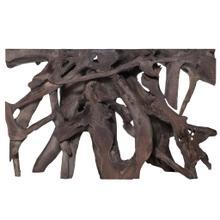 JAKARTA SMALL CONSOLE TABLE- GRAY  Gray Finish on Teak Wood
