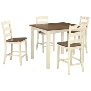 Ashley FurnitureSIGNATURE DESIGN BY ASHLEYWoodanville Counter Height Dining Room Table and Bar Stools (set of 5)
