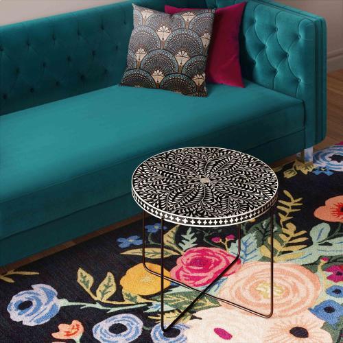 Tov Furniture - Regina Bone Inlay Cocktail Table