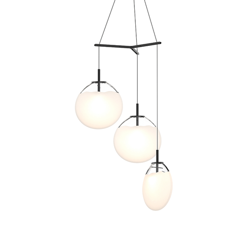 Cantina Large 3-Light Tri-Spreader LED Pendant