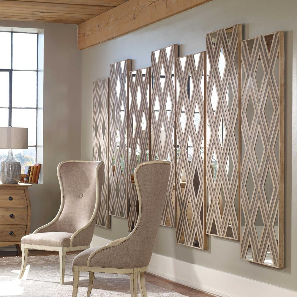 See Details - Tahira Wood Wall Decor, Rectangle