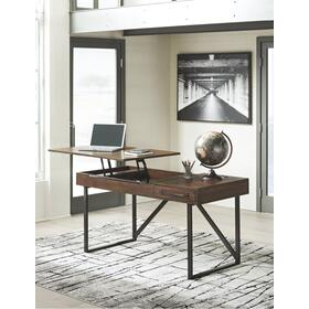 Starmore Home Office Lift Top Desk Brown