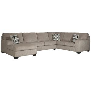 Signature Design By Ashley - Ballinasloe 3-piece Sectional With Chaise