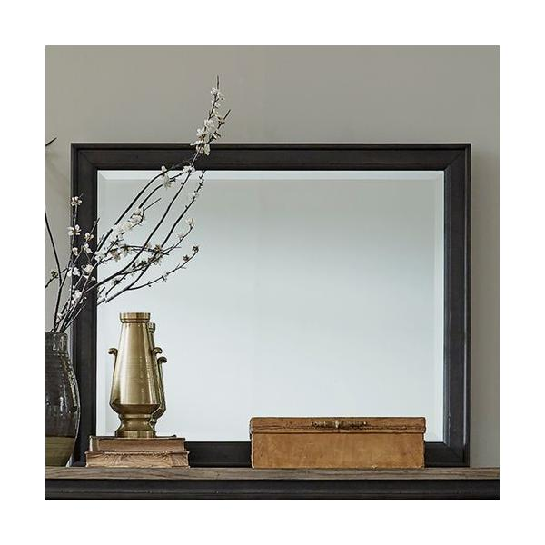 Landscape Mirror - Black