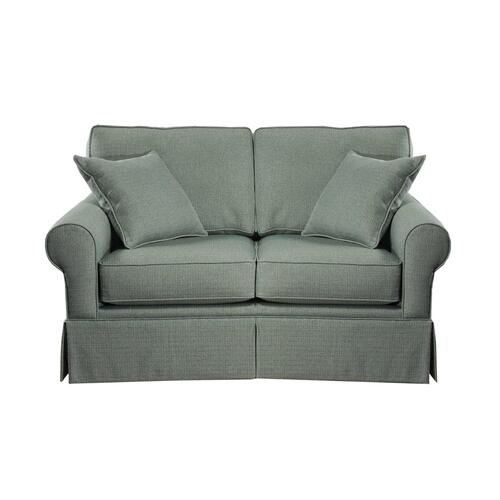 Loveseat, Skirted.