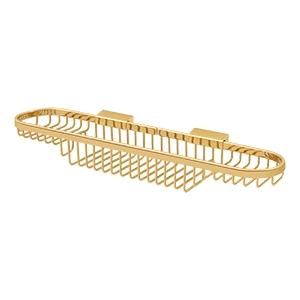"Wire Basket, 18"" Combo - PVD Polished Brass Product Image"