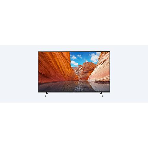 Sony - X80J  4K Ultra HD  High Dynamic Range (HDR)  Smart TV (Google TV)