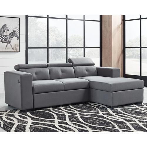 Salado 2-piece Sleeper Sectional With Storage