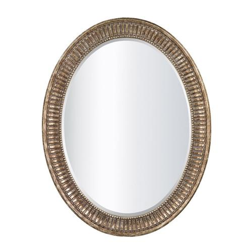 See Details - OVAL MIRROR IN BRONZE