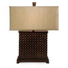 Square Textured Lamp