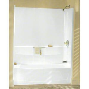 "Performa™, Series 7104, 60"" x 29"" Bath - Left-hand Drain - White Product Image"