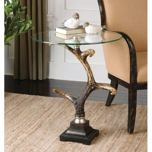 Stag Horn SideTable