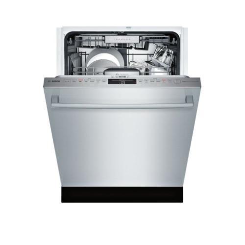 Benchmark® built-under dishwasher 24'' Stainless steel SHX87PZ55N