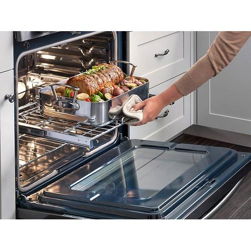 5.8 cu. ft. Chef Collection Slide-in Gas Range with True Convection in Stainless Steel