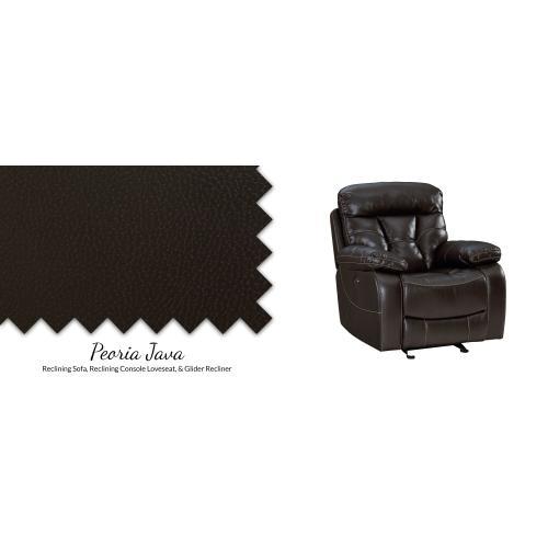 """Gallery - Reclining Sofa w/Drop Down Table 86""""L x 40""""D x 42""""H"""