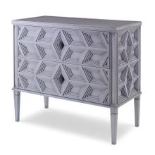 See Details - Slant Chest of Drawers - Ash Grey
