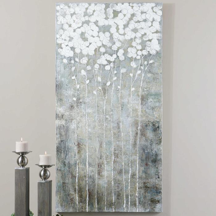 Uttermost - Cotton Florals Hand Painted Canvas