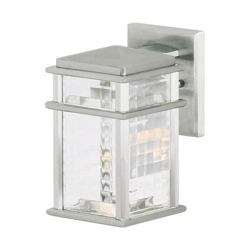 Mission Lodge Small Lantern Brushed Aluminum