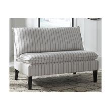 Accent Bench Arrowrock White/Gray