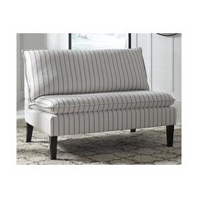 See Details - Accent Bench Arrowrock White/Gray