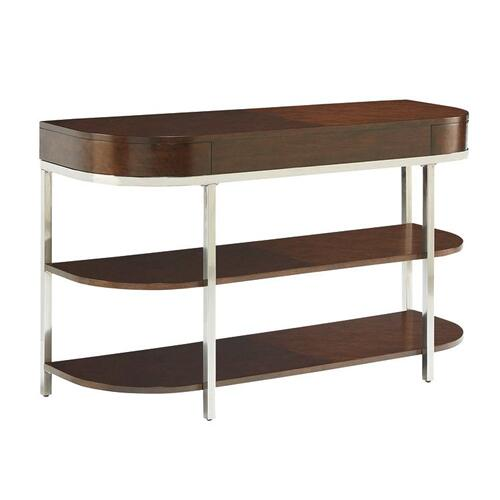 Mira Console Table, Brown