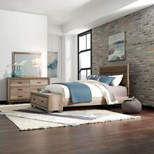 View Product - Full Storage Bed, Dresser & Mirror
