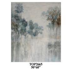 Calm Morn Painted Canvas