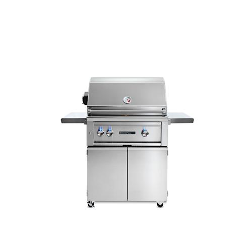 "30"" Sedona by Lynx Freestanding Grill with 2 Stainless Steel Burners and Rotisserie, LP"