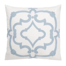 Daciana Pillow - White / Blue