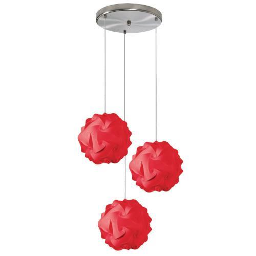 3lt Single Globus Small Jtone Red