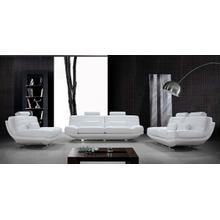 Divani Casa Viper - Contemporary Leather Sofa Set
