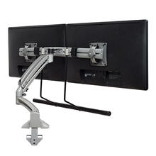 Kontour K1D Dynamic Desk Mount, Dual Monitor Array, Reduced Height