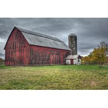 Red Barn (framed)