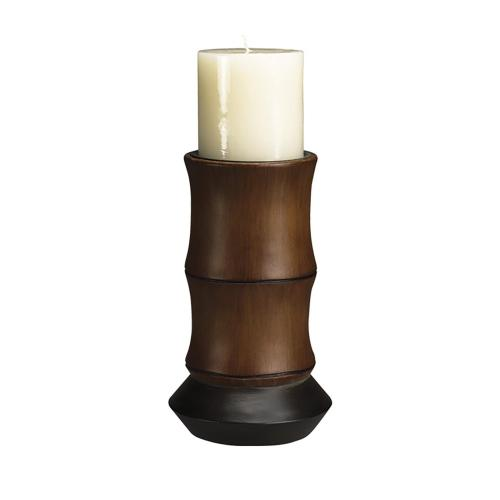 Bamboo Resin Candle Holder