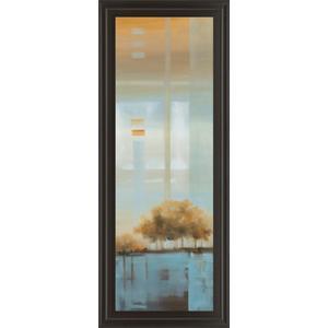 """Classy Art - """"Window On The Word I"""" By Carol Robinson Framed Print Wall Art"""