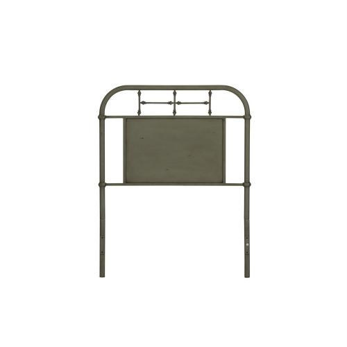 Twin Metal Headboard - Green