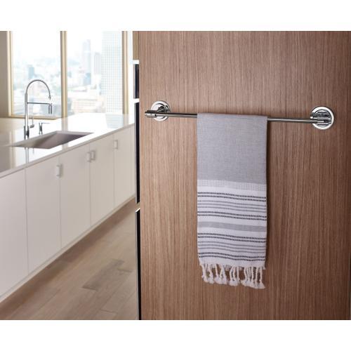 """Iso Chrome 18"""" towel bar"""