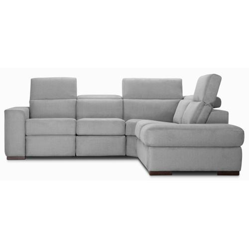 James Sectional (041-051-024; Wood legs - Tea T37)