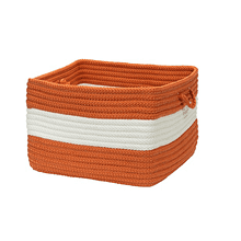 "Rope Walk Basket CB93 Rust 14"" X 10"""
