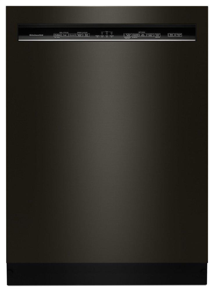 Kitchenaid46 Dba Dishwasher With Prowash™ Cycle And Printshield™ Finish, Front Control - Black Stainless Steel With Printshield™ Finish